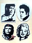🇨🇦??Bruce Lee Marilyn Monroe Elvis Presley Che Guevara Embroidered Iron-on Patch