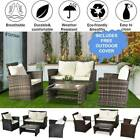 Rattan Garden Sofa Furniture Sets Patio Conservatory 4 Seaters Armchairs Table