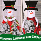 Snowman Christmas Tree Hugger Topper Top Of The Tree With Arm Party Decoration