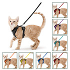 Kyпить Rabbitgoo Cat Harness Reflective Walking Jacket Adjustable with 59 Inches Leash на еВаy.соm