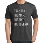 Father's Day T-Shirt Grandpa The Man The Myth The Legend 2718