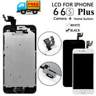 For iPhone 6S 6 Plus LCD Touch Screen Full Replacement With Home Button Camera