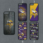 Minnesota Vikings Phone Case For iPhone 11 Pro X XS Max 8+ 7 6 Plus Black Cover $14.95 USD on eBay