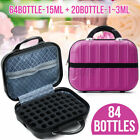 64 Grid Essential Oil Bottle Storage Box 1-15ml Bottles Container Organizer Case