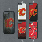 Calgary Flames Phone Case For iPhone 11 Pro X XS Max 8+ 7 6 Plus Black Cover $14.95 USD on eBay
