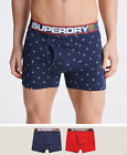 Superdry Mens Cny Sports Boxer Double Pack