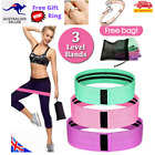 3X Bands Resistance Hip Booty Loop Workout Exercise Squat Legs Butt Fabric Yoga