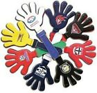 AFL Team Hand Clapper - Official AFL Party and Merchandise Supplies