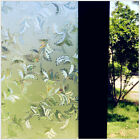 """Rabbitgoo Home Window Film Privacy Static Cling Stained Glass Film 17.5""""x78.7"""""""