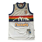 Denver Nuggets Allen Iverson white Men's hardwood classics Jersey on eBay