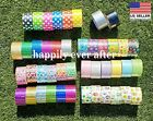Duct Tape, Glitter, Chevron, Owl, Heart, Star Patterned, Printed Duct Tape