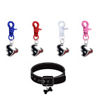 Houston Texans Pet Tag Collar Charm COLOR EDITION Football Dog Cat Pick Color $17.99 USD on eBay