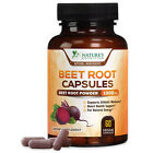 Organic Beet Root Powder Capsules 1300mg Digestive Brain Blood Liver Support $12.82 USD on eBay