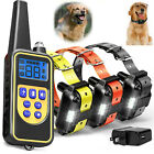 Outdoor Wireless Dog Training Shock Collar Pet Electric Trainer System Remote