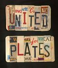 License Plate Letters For Sign Making!