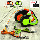 10/16/26ft Retractable Dog Leash Reflective Automatic Lead for Small Large Dogs