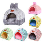 Pets House Igloo Very Warm Padded Fleece Winter Bed Dog Cat hut House Kennel UK