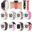 Silicone Sport Replace Strap Apple Watch Band Iwatch Series Se 6 5 4 3 2 1 44 42