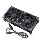 Dual 120mm 5V USB Fans Cooling For Router TV Box Micro Computer and Electronics