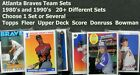 Atlanta Braves Team Sets _ 1980's and 1990's _ Your Choice _ 50+ Available on Ebay