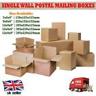 Single Wall Parcel Mailing Posting Cardboard Boxes Packing Storage Moving Carton