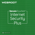 Webroot Internet Security Plus - 1 to 3 years for 1 to 5 devices (License key)