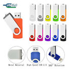 Swivel 32GB 16GB 1TB 2TB USB2.0 Flash Drive Thumb Memory Stick U Disk 1MB Lot