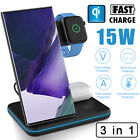 Qi Wireless Charger Fast Charging For Samsung Galaxy Note 20 Ultra 5G/Note10/S20