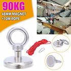 200/300/500kg Double Sided Round Recovery Salvage Neodymium Fishing Magnet Kits