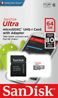 SanDisk Micro SD Card 16GB 32GB 64GB 128GB TF Class 10 for Smartphones Tablets