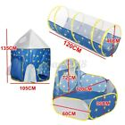 3 in1 Kids Tent Crawling Toddlers Play Tent Playhouse Yard Tunnel Ball Pits