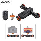 Andoer Motorized Camera Video Dolly w/ Scale Indication for DSLR Smartphone D6B7