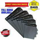 Grey Mailing Bags Self Seal Strong Poly Postal Postage Post WaterProof Mail Bag