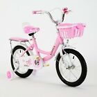 TYNEE™ CHILDREN'S GIRLS BOYS BIKE BICYCLE WITH REMOVABLE STABILISERS 14 INCH UK