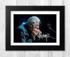 John Mayall 2 A4 reproduction autograph photograph poster choice of frame