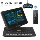 13.9'' Portable Car TV HD DVD Player 16:9 270° Rotate Screen USB Game