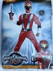 Power Ranger RPM Red Ranger Muscle Chest Boys Costume