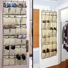 24Pocket Over the Door Shoe Organizer Rack ing Storage Space Saver   @3$ (