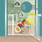 Внешний вид - Guardrail Baby Safety Gate Door Metal Wide Walk Thru Pet Dog Cat Child Toddler