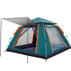 5-6 Person Family Camping Tent Instant Popup Foldable Waterproof Windproof