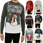 Threadbare Adults Festive Funny Novelty Knitted Crew Neck Christmas Jumpers