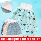 2 in 1 Comfy Childrens Diaper Skirt Shorts Baby Waterproof Leak-proof Washable