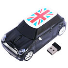 2.4G BMW Mini Cooper car Shape Wireless Mouse Gaming mice for PC Laptop Mac Gift