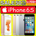 Apple Iphone 6s 128gb 64gb 32gb 16gb Unlocked Express Shipping & Au Warranty