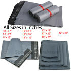 Grey Mailing Postal Bags Strong Packing Post Polythene Small Big Bag All Sizes