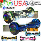 """LED Bluetooth Electric Hoverboard 6.5"""" Self Balance Scooter Hoover Board No Bag"""
