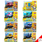BabyBus Panda Monster Mini Car Series- Bus Tow Fire Dump Truck Police Ambulance