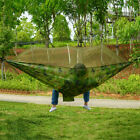Portable Camping Hammock with Mosquito Net Nylon Tent Hanging Bed Outdoo
