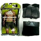 Adidas Men's Boxer Briefs 2 Pack S M L XL Black Grey Stretch Athletic Climacool