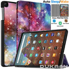 'Leather Cover Magnetic Smart Tablet Case For Amazon Kindle Fire Hd 10, Hd 8, 7